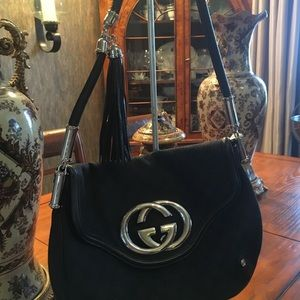 GG Black Tassel Bag. Gorgeous Come with Dust Bag.